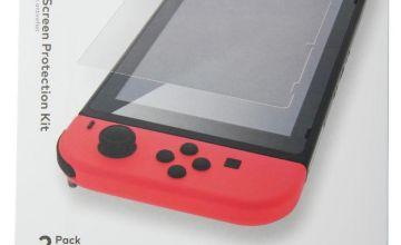 Nintendo Switch Anti-glare Screen Protection Kit - 2 Pack