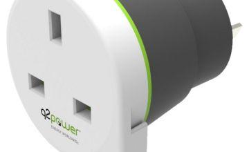 Q2Power UK to Australia Travel Adapter