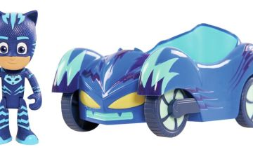 PJ Masks Cat Boy Figure and Vehicle