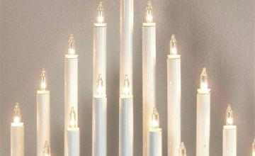 Premier Decorations 33 LED Candlebridge Tower - Warm White