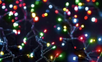 Premier Decorations 750 TreeBrights with Timer - Multicolour