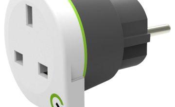 Q2Power UK to Europe Travel Adapter