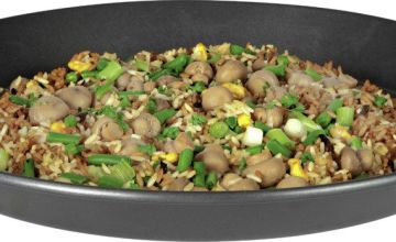 Argos Home 40cm Non Stick Carbon Steel Paella Pan