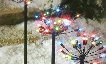 Premier Decorations Christmas LED Path Light - Multicoloured