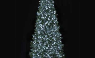 Premier Decorations 1500 TreeBrights with Timer - White