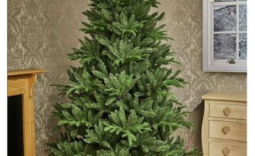 Premier Decorations 2.4 Metre Aspen Fir Tree and Stand