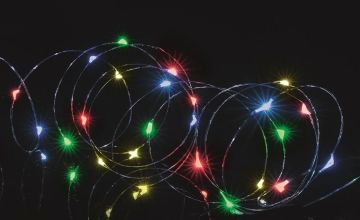 Premier Decorations 200 Microbright LED Lights - Multi
