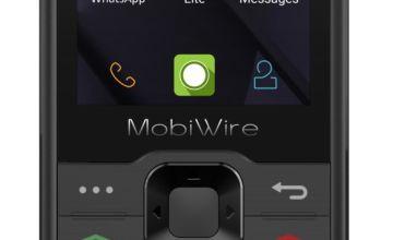 EE Mobiwire Nokosi Mobile Phone - Black