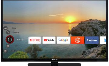 Hitachi 32 Inch Smart Full HD TV / DVD Combi