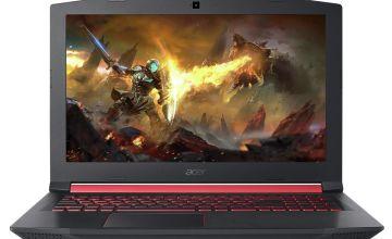 Acer Nitro 15.6 Inch i5 8GB 1TB 128GB GTX1050 Gaming Laptop