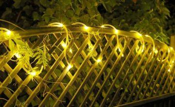 Argos Home 80 Multicoloured Tube LED String Lights - 8m