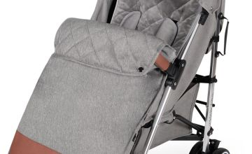 Ickle Bubba Discovery Max Stroller - Grey on Silver