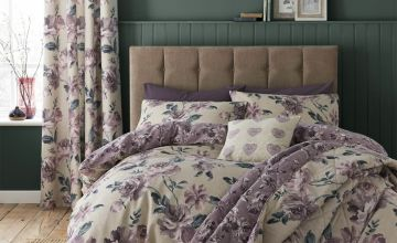 Catherine Lansfield Painted Floral Bedding Set