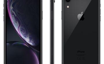 Sim Free iPhone XR 128GB Mobile Phone - Black