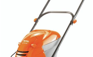 Flymo Hover Vac 250 25cm Collect Lawnmower - 1400W