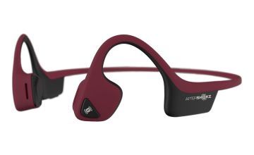 Aftershokz Air Bone Conduction Wireless Headphones - Red