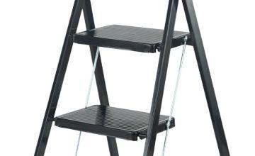 Abru Slim 3 Step Stepstool with Tool Tray