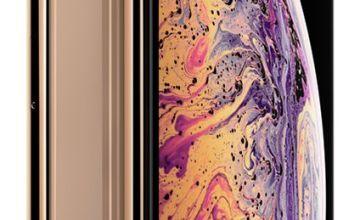 Sim Free iPhone Xs Max 256GB Mobile Phone - Gold