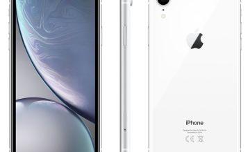Sim Free iPhone XR 128GB Mobile Phone - White