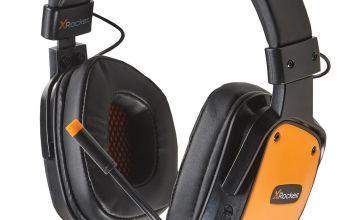 X-Rocker XH2 Xbox One, PS4, PC Headset - Orange