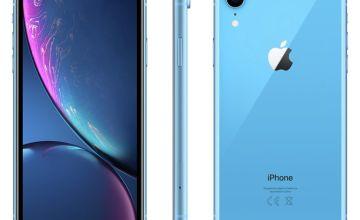 Sim Free iPhone XR 128GB Mobile Phone - Blue