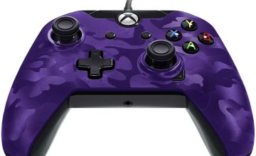 Licensed Xbox One Controller with Back Paddle - Purple Camo