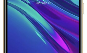 SIM Free Huawei Y6 32GB Mobile Phone - Amber Brown