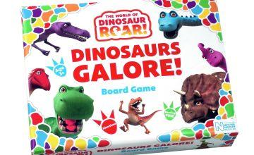 Dinosaur Roar Board Game