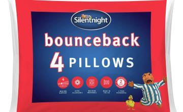 Silentnight Bounceback Pillows - 4 Pack