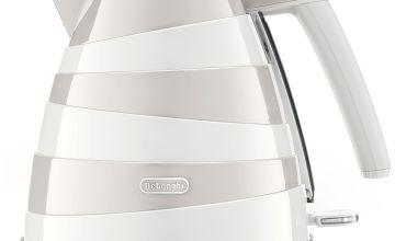 De'Longhi KBAC3001.W Avvolta Kettle - White & Grey