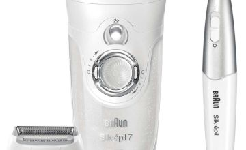 Braun Silk-epil 7 Wet and Dry Cordless Epilator