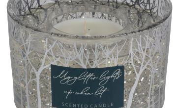 Argos Home Large Gel Candle - Frosted Cedar