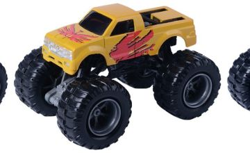 Chad Valley Auto City Monster 1:64 Scale Truck - 3 Pack Asst