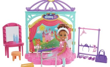 Barbie Club Chelsea Doll and Ballet Playset