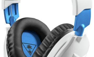 Turtle Beach Recon 70P PS4, Xbox One, PC Headset - White