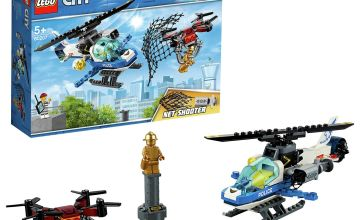 LEGO City Sky Police Drone Chase Toy  Helicopter - 60207