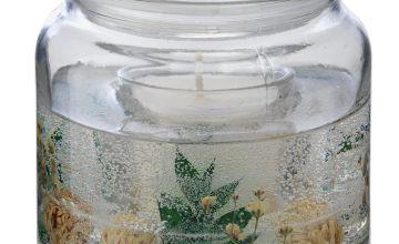 Argos Home Elderberry & Fig Leaf Gel Candle