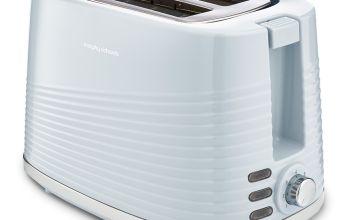 Morphy Richards 220030 Dune 2 Slice Toaster - Blue