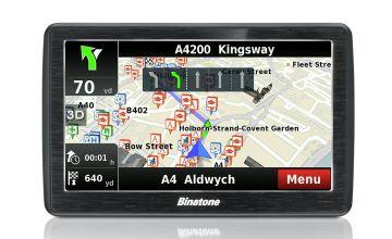 Binatone U700 7 Inch UK,ROI with Lifetime Maps Sat Nav