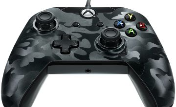 Licensed Xbox One Controller with Back Paddle - Black Camo
