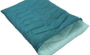 Vango Kiana 250GSM Double Envelope Sleeping Bag - Blue