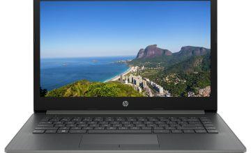 HP 14 Inch i3 4GB 128GB FHD Laptop - Grey