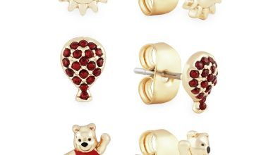 Disney Winnie The Pooh Balloon Stud Earrings - Set of 3
