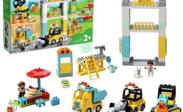 LEGO DUPLO Tower Crane & Construction Vehicle - 10933