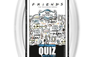Friends Top Trumps Quiz Card Game