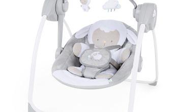 Ingenuity Comfort 2 Go Portable Swing - Cuddle Lamb