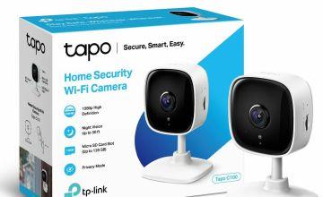 TP-Link Tapo C100 Smart 1080p Wi-Fi Indoor Camera