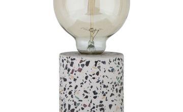 Argos Home Dash Exposed Bulb Lamp - Terrazzo