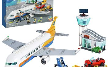 LEGO City Airport Passenger Airplane & Terminal Set 60262