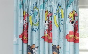 PAW Patrol Unlined Pencil Pleat Curtains